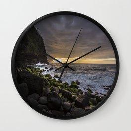 Na Pali Coast, Kauai Wall Clock