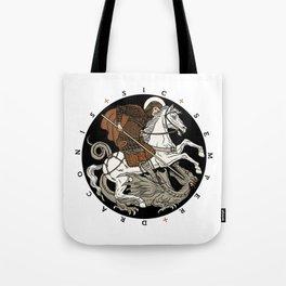 Sic Semper Draconis Tote Bag