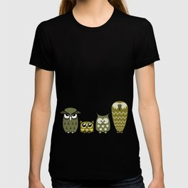 All is Owly (gold) T-shirt