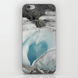 Glacier Heart iPhone Skin