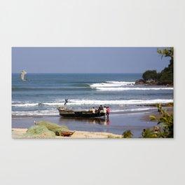 surfEXPLORE Ghana Canvas Print