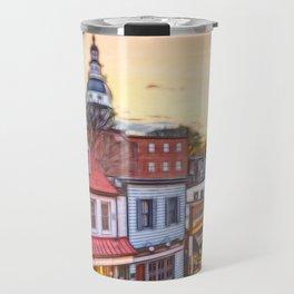 Downtown Annapolis Maryland Travel Mug