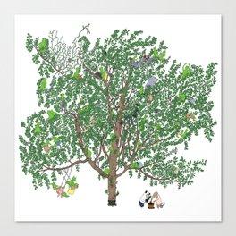BB&PPINC Tree Print Canvas Print