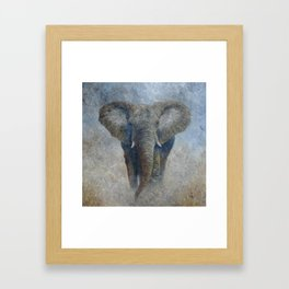 Elephant 2 Framed Art Print