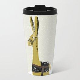 Donkey graphic Travel Mug