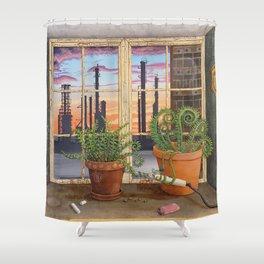 UglyBeauty Shower Curtain