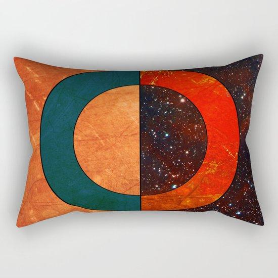 Abstract #129 Rectangular Pillow