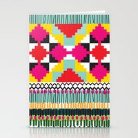 ethnic Stationery Cards featuring Ethnic by Maria Blanco