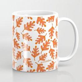 Gathering of Fall Leaves Coffee Mug