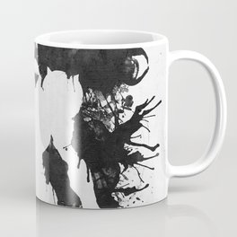 Samus Aran Metroid Geek Psychological Diagnosis Ink Blot  Coffee Mug