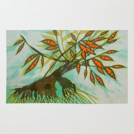 withered tree (original sold) Rug