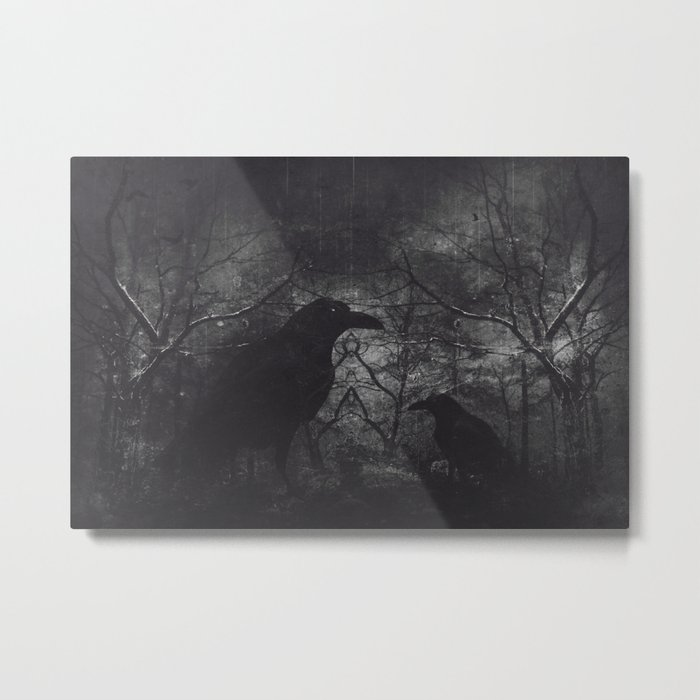Theres someone at the door Metal Print