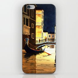Evening In Venice Italy iPhone Skin