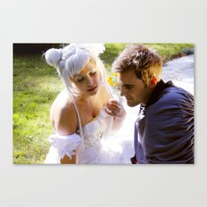 Sailor Moon - Princess Serenity and Prince Endymion  Canvas Print