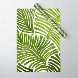 Summer Fern / Simple Modern Watercolor Wrapping Paper