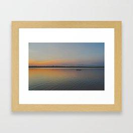 Indian Lake Framed Art Print