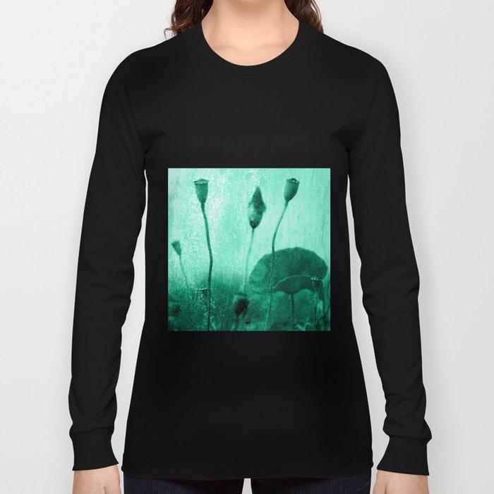 Poppy Art Image Long Sleeve T-shirt
