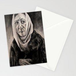 Modernization: Lady in a Fur Coat (El Greco) Stationery Cards