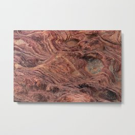 Natural Sandstone Art, Valley of Fire - V Metal Print