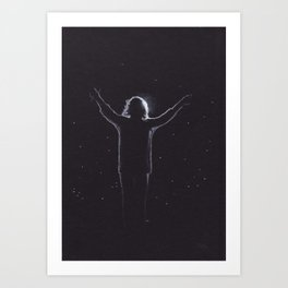 Harry Styles (with a Halo) Art Print