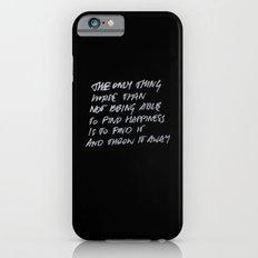 Throw Away iPhone 6 Slim Case