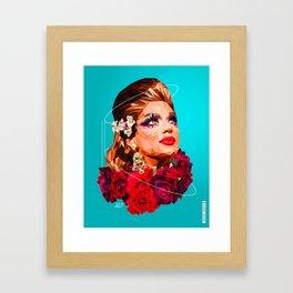 Latin drag Framed Art Print