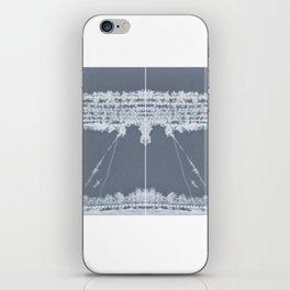 split lines iPhone Skin