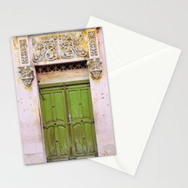 Havana Door - Cuba Travel, Architecture Photography Stationery Cards