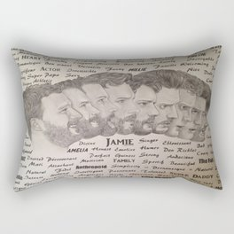 Jamie Dornan Rectangular Pillow