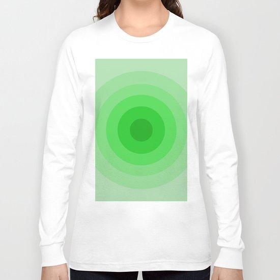 Shades Of Green Long Sleeve T-shirt
