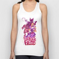 fnaf Tank Tops featuring Five Nights at Freddy's by Camille Dion-Bolduc