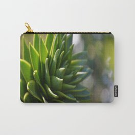 Sparkles in Green Carry-All Pouch