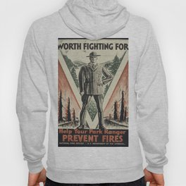 Vintage poster - Worth Fighting For Hoody