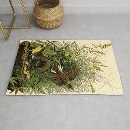 Meadow Lark (Sturnella magna) Rug