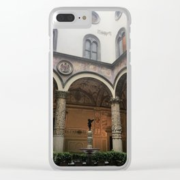 City Hall meetings Clear iPhone Case