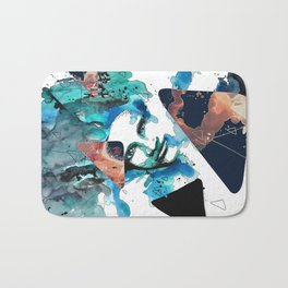Verso by carographic, Carolyn Mielke Bath Mat