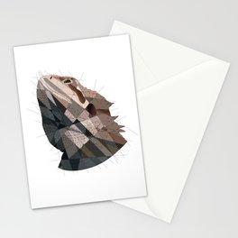 Geometric Dragon Stationery Cards