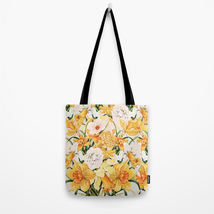 Wordsworth  and the daffodils. Tote Bag