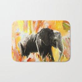 African Elephant - Happy Trails Bath Mat