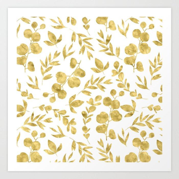 Golden Meadow Art Print