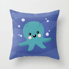 Cute-opus Throw Pillow