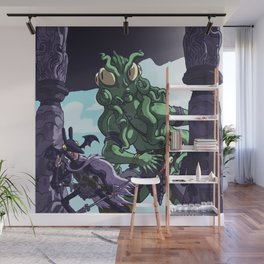 Into the Lair of The Baleful Ones... Wall Mural