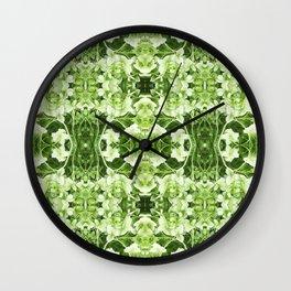 Pattern 44 - Hydrangea Wall Clock