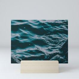 water waves Mini Art Print