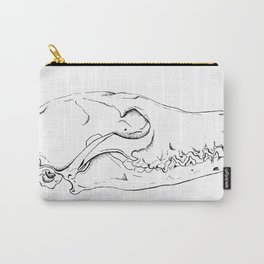 Fox Skull Carry-All Pouch