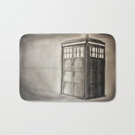 Take a Trip with a Mad Spaceman (Doctor Who) Bath Mat