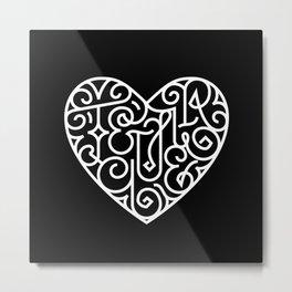 Te quiero Metal Print