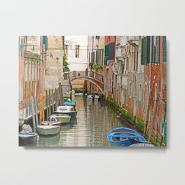 Quiet Canal Metal Print