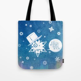 Jolly Good Snow Tote Bag