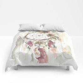 Dream catcher in earthy tones Comforters